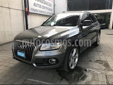 Foto venta Auto usado Audi Q5 3.0 TFSI Elite (2015) color Gris Lava precio $395,000