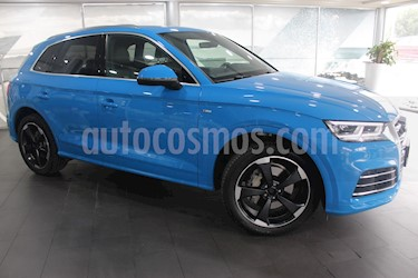 Foto venta Auto usado Audi Q5 45 TFSI S Line (2019) color Azul precio $849,000
