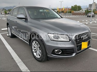 Audi Q5 2.0L TFSI S-Tronic Quattro Attraction usado (2014) color Gris Lava precio $42.800.000