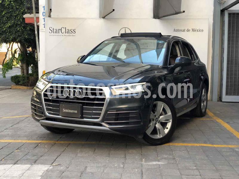 Audi Q5 2.0L T Elite usado (2018) color Gris precio $630,000