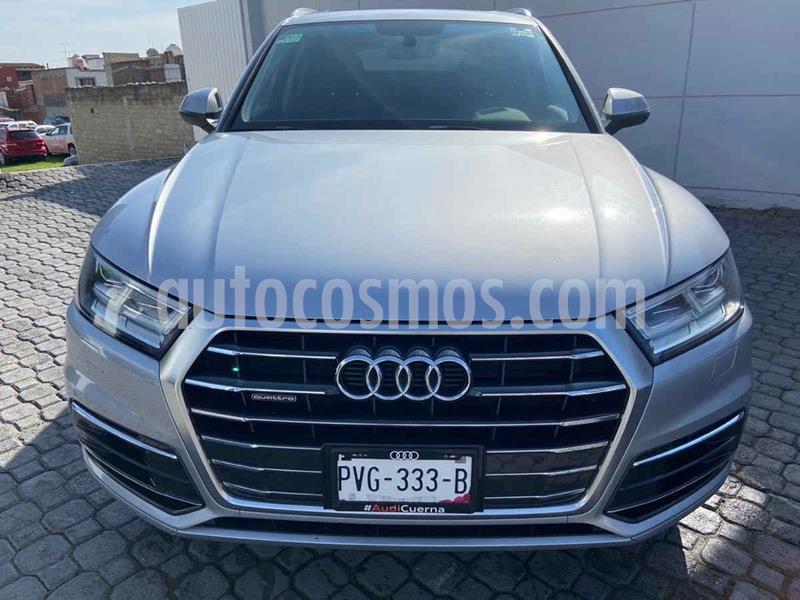 Audi Q5 2.0L T Elite usado (2018) color Plata Dorado precio $575,000