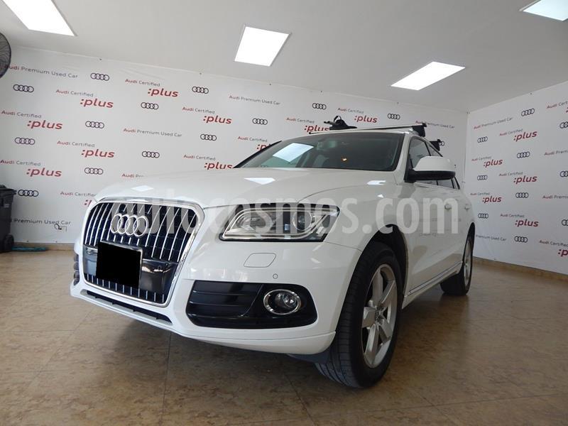 Audi Q5 2.0L T FSI Luxury usado (2014) color Blanco precio $295,000
