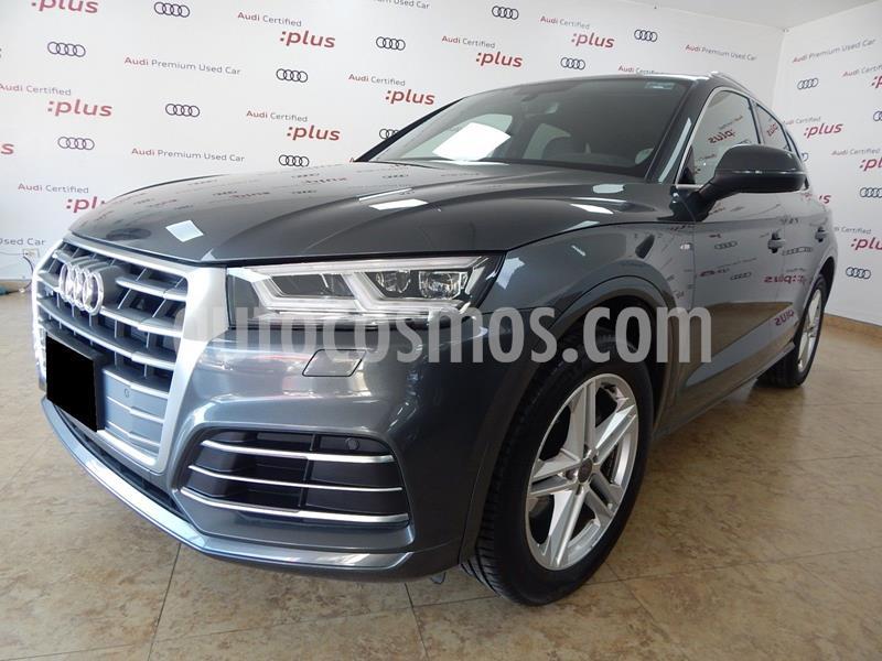 Audi Q5 2.0L T S Line usado (2018) color Gris Oscuro precio $690,000