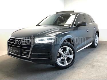 Audi Q5 5p Elite L4/2.0/T Aut usado (2018) color Gris precio $650,000