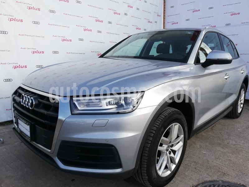 Audi Q5 2.0L T Dynamic  usado (2020) color Plata Dorado precio $705,000
