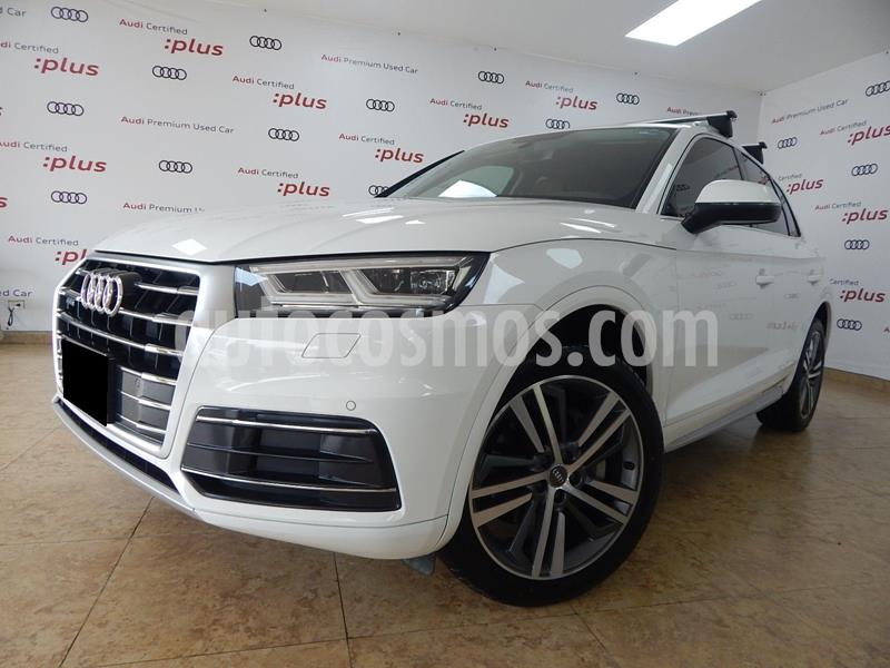 Audi Q5 2.0L T Elite usado (2018) color Blanco precio $595,000