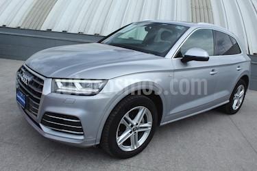 Audi Q5 2.0L T S Line usado (2018) color Plata Metalico precio $589,000