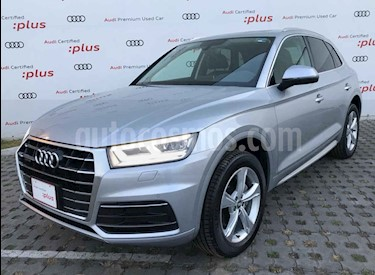 Audi Q5 2.0L T Elite usado (2018) color Plata precio $570,000