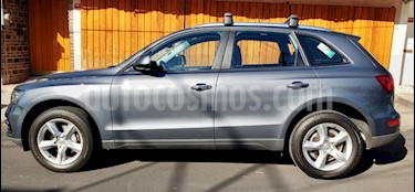 Audi Q5 2.0L T FSI Trendy usado (2016) color Gris Quarzo precio $360,000