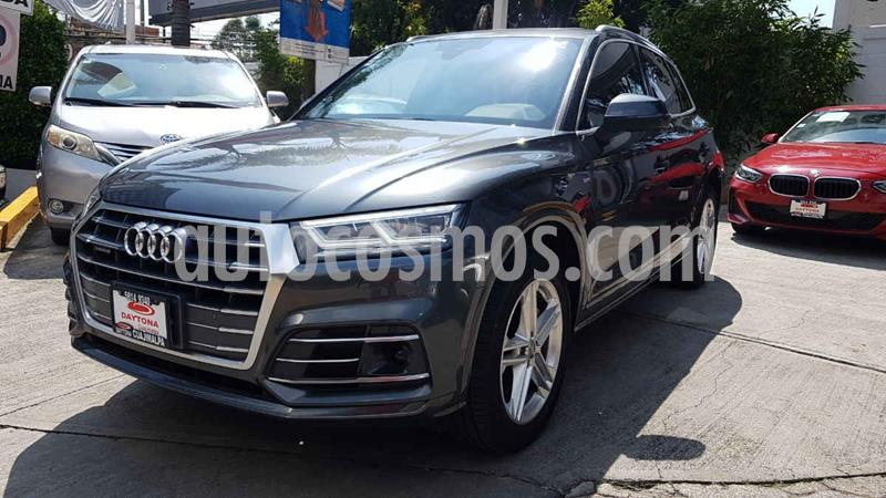 Audi Q5 2.0L T S Line usado (2018) color Gris precio $649,000