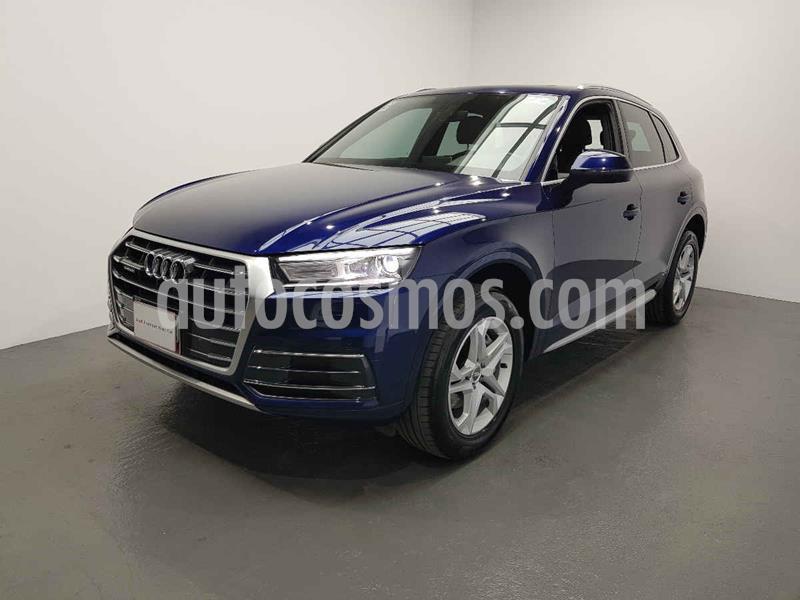 Audi Q5 2.0L T Select usado (2018) color Azul precio $545,000