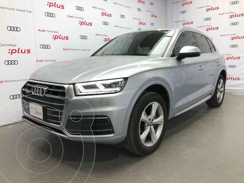 Audi Q5 45 TFSI Elite usado (2020) color Plata precio $795,000