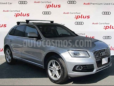 Audi Q5 2.0L T FSI Elite usado (2017) color Plata precio $435,000