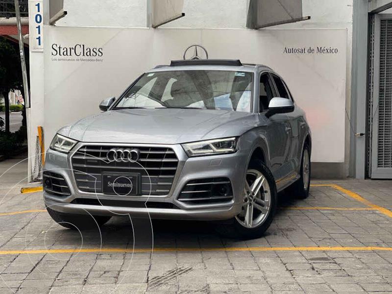 Foto Audi Q5 2.0L T S Line usado (2018) color Plata precio $660,000