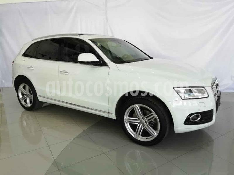 Audi Q5 5p Elite L4/2.0/T Aut usado (2017) color Blanco precio $470,000