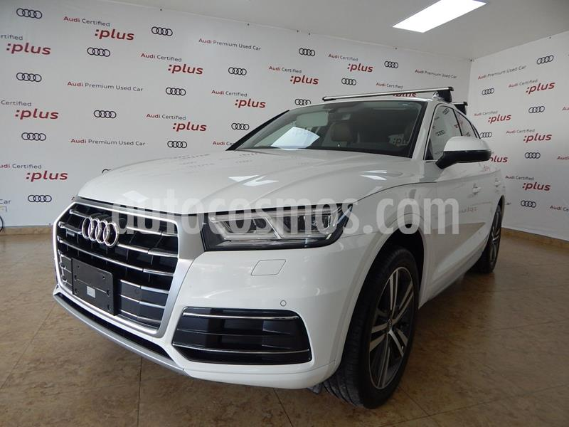 Audi Q5 2.0L T Elite usado (2018) color Blanco precio $630,000