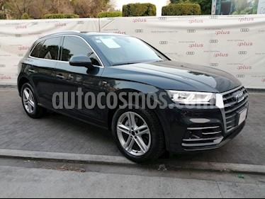 Audi Q5 2.0L T S Line usado (2018) color Gris Meteoro precio $609,000