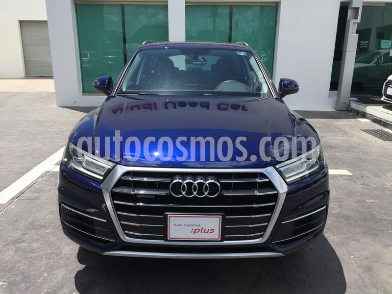 Audi Q5 45 TFSI Select usado (2020) color Azul precio $785,000
