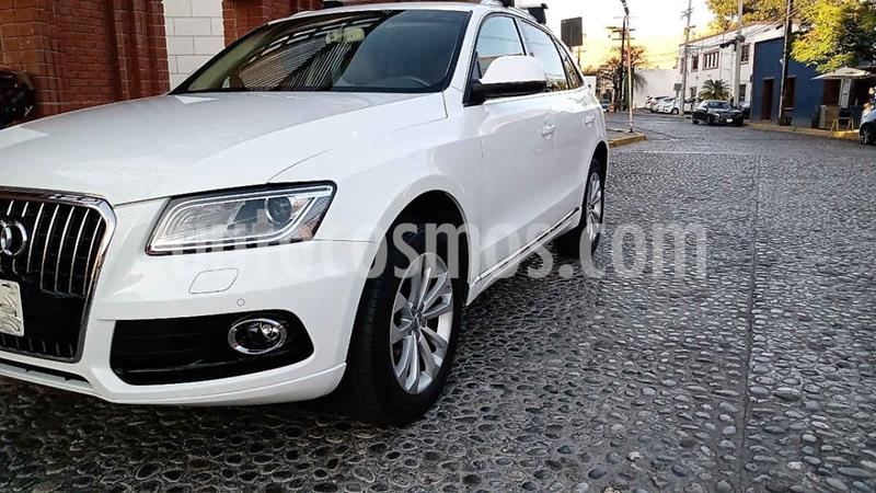 Audi Q5 2.0L T FSI Luxury usado (2015) color Blanco precio $315,000