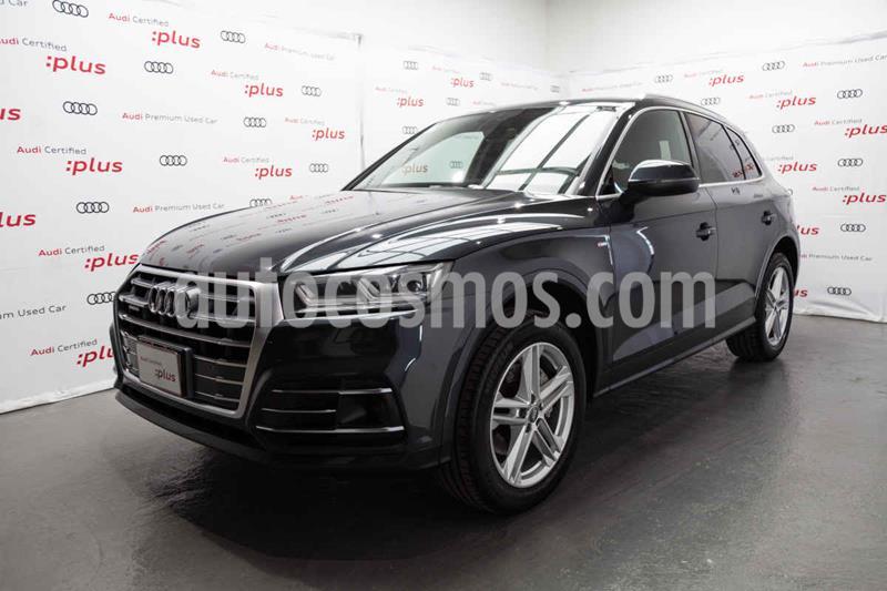 Audi Q5 2.0L T S Line usado (2018) color Gris precio $620,000