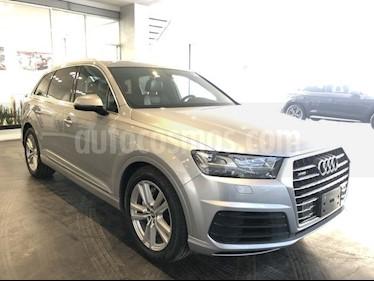 Foto venta Auto usado Audi Q7 3.0L TFSI S Line Quattro (333Hp) (2018) color Plata Hielo precio $880,000