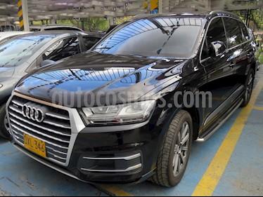 Audi Q7 3.0L TFSI Tiptronic Quattro   usado (2017) color Negro precio $205.900.000