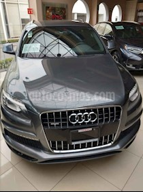 Foto venta Auto usado Audi Q7 3.0T S Line Tiptronic Quattro (333Hp) (2015) color Gris precio $490,000