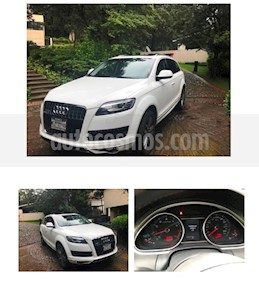 Foto venta Auto usado Audi Q7 4.2L TDI Elite (340Hp) (2010) color Blanco precio $269,000