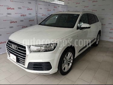 Foto venta Auto usado Audi Q7 4.2L TDI S-Line (340Hp) (2017) color Blanco precio $870,000