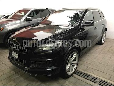 Foto venta Auto usado Audi Q7 4.2L TDI S-Line (340Hp) (2013) color Negro precio $489,900