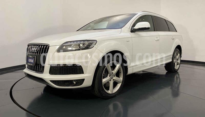Audi Q7 3.0L TFSI Elite (333Hp) usado (2014) color Blanco precio $392,999