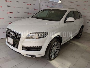 Audi Q7 5p 3.0L Elite TDI Tiptronic Quattro usado (2013) color Blanco precio $365,000