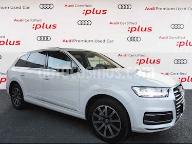 Audi Q7 5p Elite V6/3.0/T Aut usado (2018) color Blanco precio $900,000