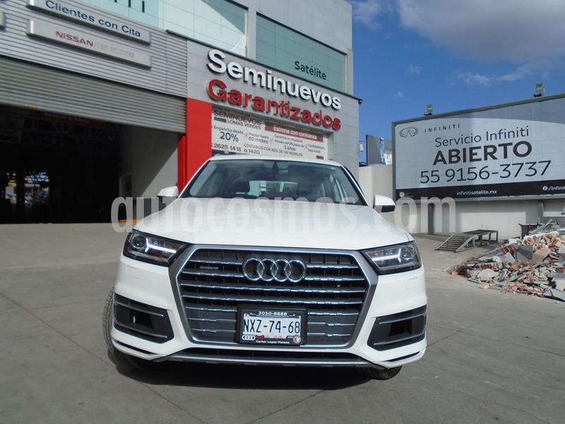 foto Audi Q7 3.0L TFSI Select Quattro (333Hp) usado (2019) color Blanco precio $899,000