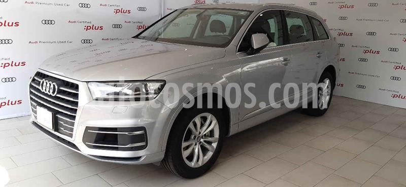Audi Q7 3.0L TFSI Select Quattro (333Hp) usado (2018) color Plata precio $730,000