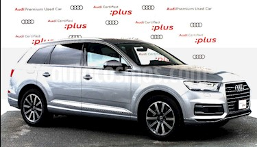Audi Q7 5p Elite V6/3.0/T Aut usado (2018) color Plata precio $880,000