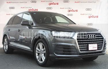 Audi Q7 5p S Line V6/3.0/T Aut usado (2018) color Gris precio $890,000