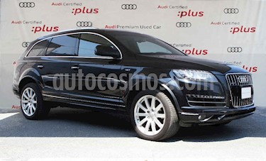 Audi Q7 5p 3.0L Elite Quattro Tiptronic usado (2013) color Negro precio $350,000