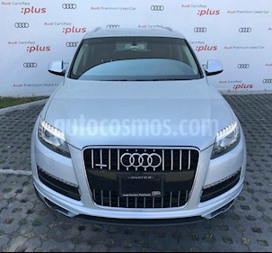 Audi Q7 5p Elite V6/3.0/T Aut usado (2015) color Plata precio $469,010