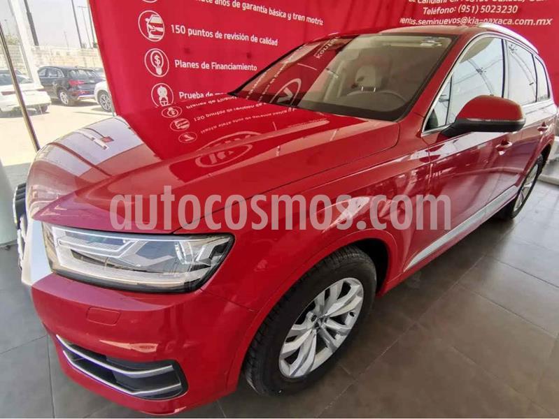 Audi Q7 3.0L TFSI Select Quattro (333Hp) usado (2018) color Rojo precio $949,000