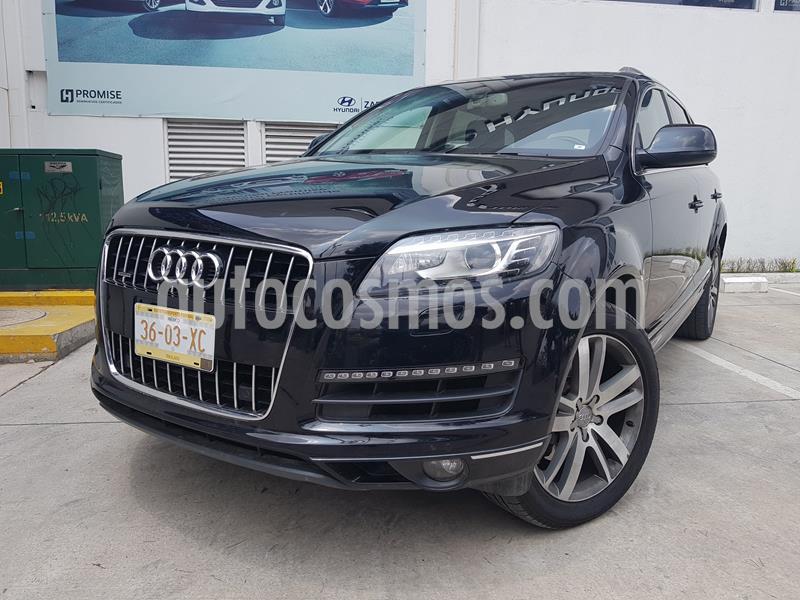 Audi Q7 3.0L TFSI Elite (333Hp) usado (2015) color Negro precio $414,900