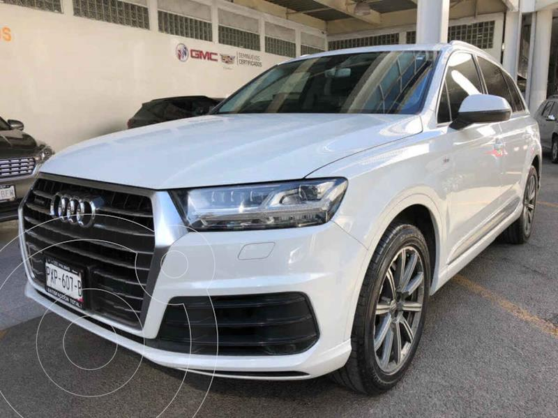 Foto Audi Q7 3.0L TDI Land of Quattro (245Hp) usado (2016) color Blanco precio $560,000