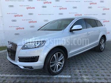 Audi Q7 5p Elite V6/3.0/T Aut usado (2015) color Plata precio $469,000