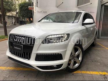 Audi Q7 3.0L TFSI S Line Quattro (333Hp) usado (2015) color Blanco precio $490,000
