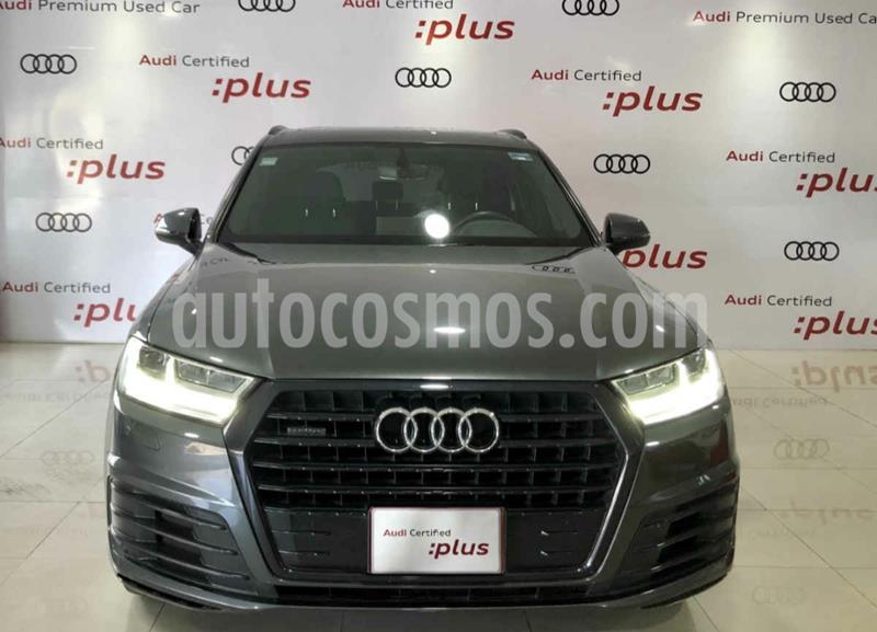 Audi Q7 3.0L TFSI S Line Quattro (333Hp) usado (2017) color Gris Condor precio $699,700