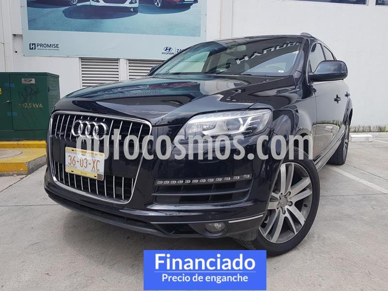 Audi Q7 3.0L TFSI Elite (333Hp) usado (2015) color Negro precio $103,725