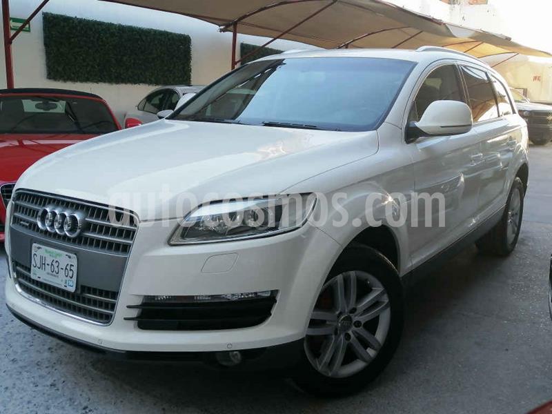 Audi Q7 4.2L TDI Elite (340Hp) usado (2007) color Blanco precio $169,000