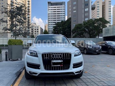 Audi Q7 3.0T Elite Tiptronic Quattro (333Hp) usado (2015) color Blanco precio $429,000