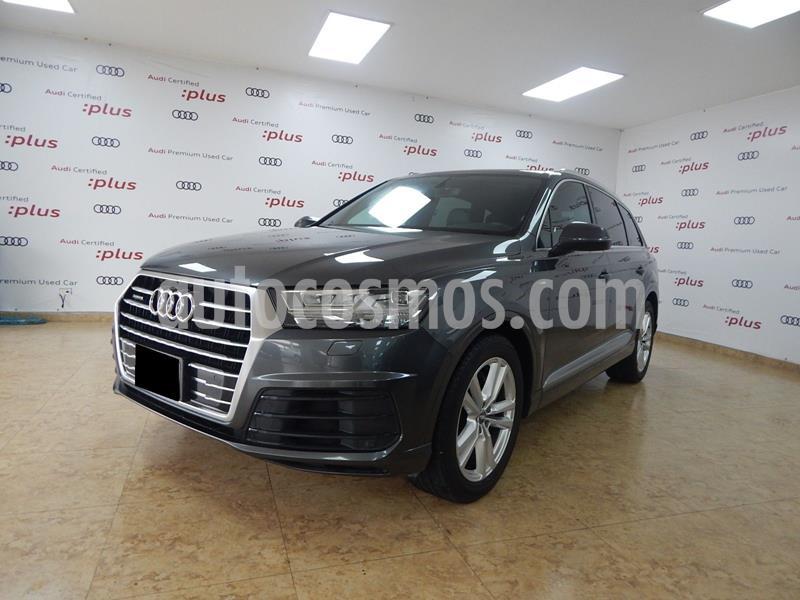 Audi Q7 3.0L TFSI S Line Quattro (333Hp) usado (2017) color Gris precio $625,000