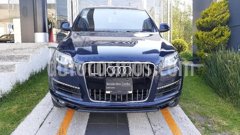 Audi Q7 3.0T Elite Tiptronic Quattro (340Hp) usado (2013) color Azul precio $449,000